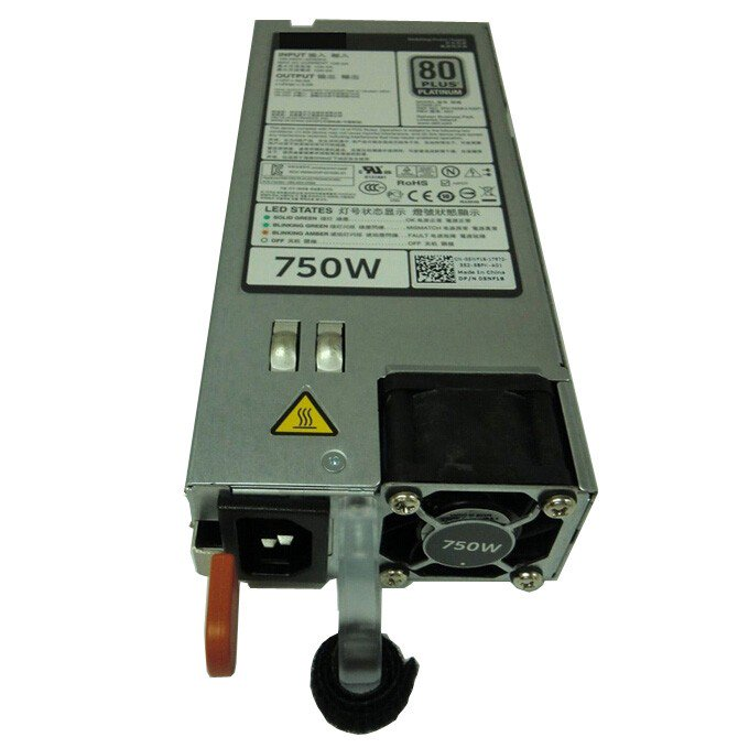 Dell PowerEdge R620 R720 750 Watt Power Supply Unit D750E-S1 05NF18