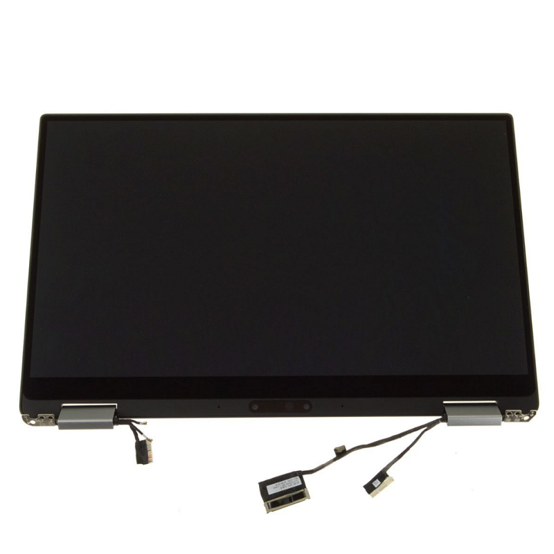 "For Dell OEM XPS 13 (9365) 13.3"" Touchscreen QHD+ LCD Display Complete Assembly - Silver - 4XFMN 04XFMN CN-04XFMN"
