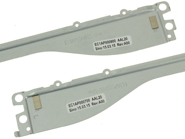 For Dell OEM Inspiron 15 (5558) / Vostro 15 (3558) Touchscreen LCD Mounting Rails Support Brackets w/ 1 Year Warranty