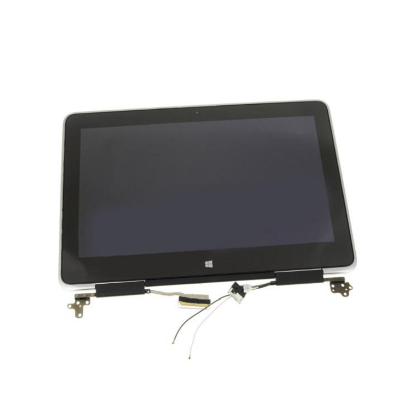 "For Dell OEM XPS 11 (9P33) 11.6"" Touchscreen QHD LCD Display Complete Assembly with Hinges - 668NJ"