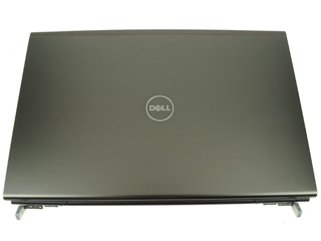 "For Dell OEM Precision M6600 17.3"" RGB LCD Back Cover Lid Assembly with Hinges - RGB LCD ONLY - 772MN"