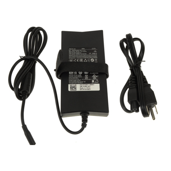 For Dell XPS 15 (9530) / Precision M3800 Laptop Charger 130 watt Genuine AC Power Adapter 4.5mm Tip - 662JT - 7CWK7