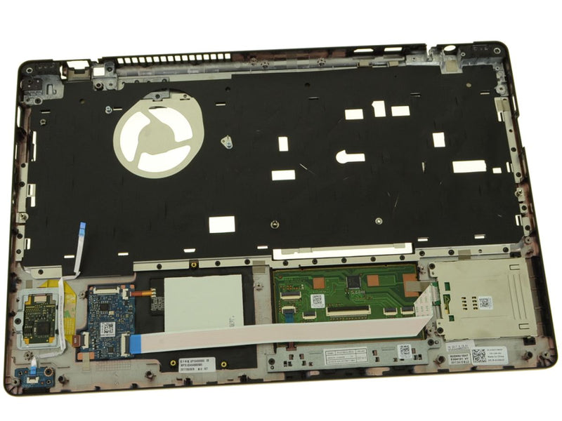 For Dell OEM Latitude 5580 / Precision 3520 Palmrest Touchpad Assembly with FIPS Fingerprint Reader - A166U3