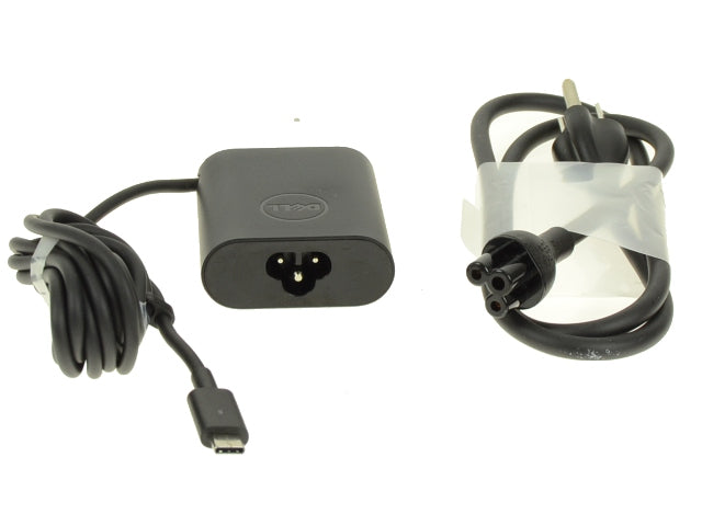 New Dell OEM 30-Watt USB Type-C AC Power Adapter with Connector - F17M7 - RDYGF