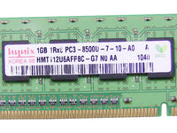 Dell OEM DDR3 1066Mhz 1GB PC3-8500U Non-ECC RAM Memory Stick - F680F w/ 1 Year Warranty