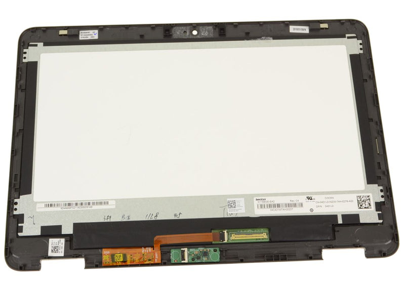 "[ Wholesaling ] Dell OEM Inspiron 11 (3168 / 3169 / 3185) 11.6"" TouchScreen LCD Display Assembly - Black - HCRV9"