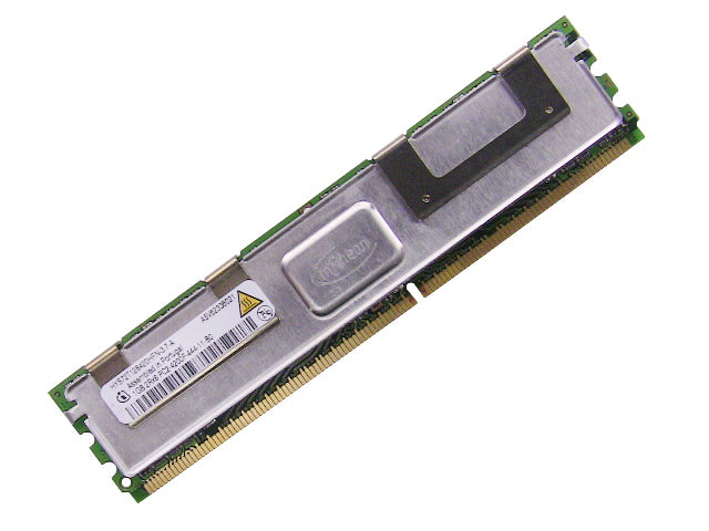 For Dell OEM DDR2 533Mhz 1GB PC2-4200F ECC RAM Memory Stick - HYS72T128420HFN-3.7-A w/ 1 Year Warranty