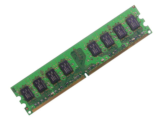 For Dell OEM DDR2 667Mhz 2GB PC2-5300U Non-ECC RAM Memory Stick - HYMP125U64CP8 - KU354 w/ 1 Year Warranty