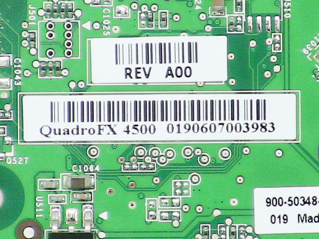 For Dell OEM Nvidia Quadro FX 4500 512MB Desktop Video Card - KU705