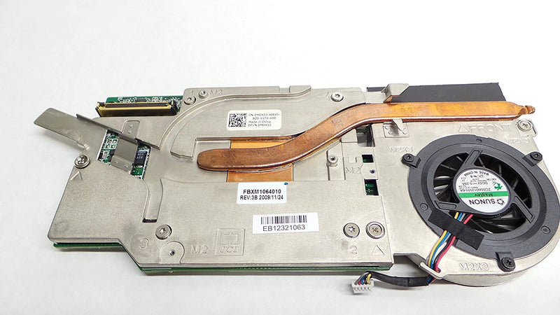 For Dell OEM Precision M6400 512mb Nvidia FX2700M Video Graphics Card - MDX3J w/ 1 Year Warranty