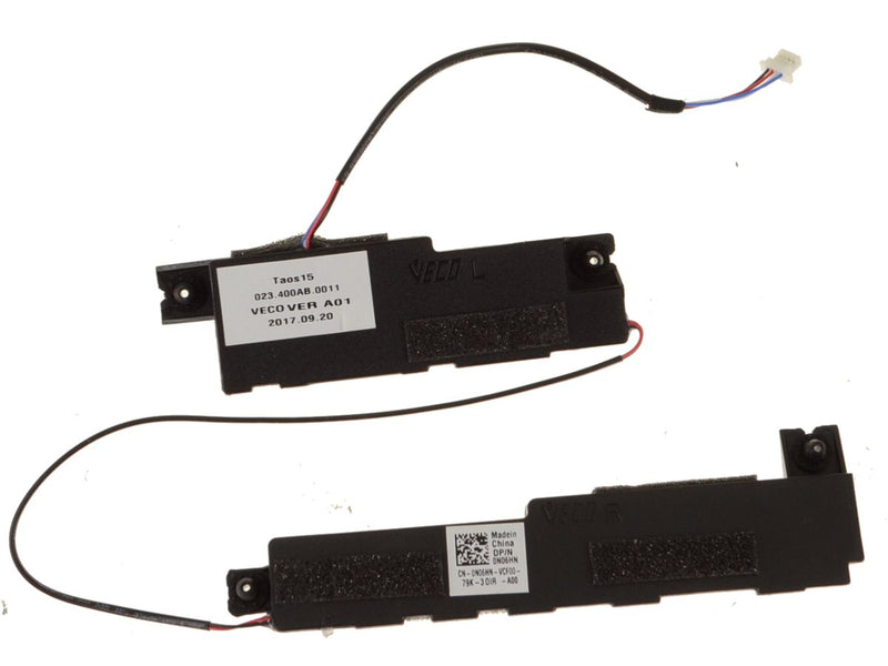 For Dell OEM Latitude 3580 Replacement Speakers Left and Right - N06HN