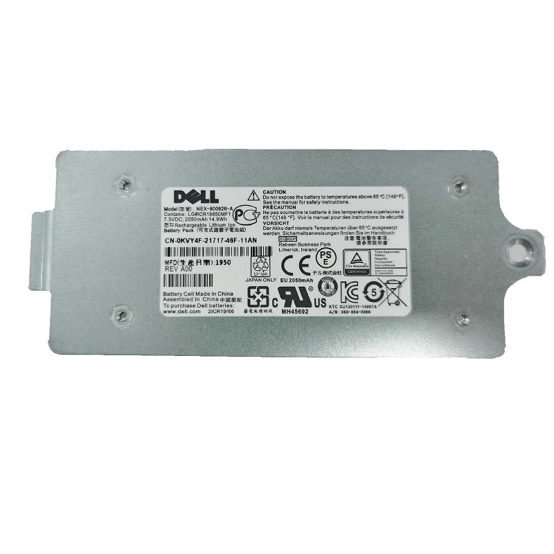 0KVY4F  010DXV 0M1GDN 0FK6YW 0K4PPV For Dell EqualLogic Smart Li-on Battery Module PS6210 PS4210 Controller