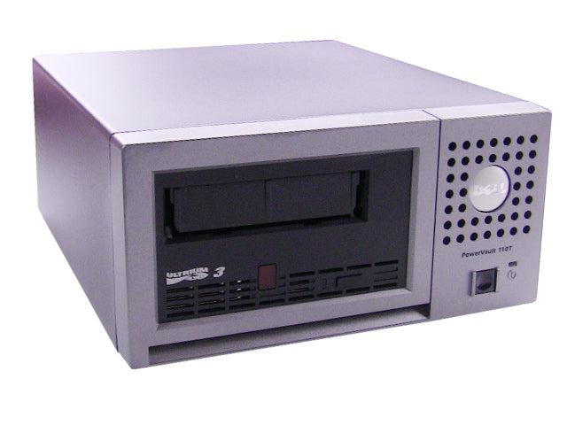 For Dell OEM PowerVault Ultrium PV110T LTO3 External Tape Drive 400GB/800GB SCSI LVD - NP888 w/ 1 Year Warranty
