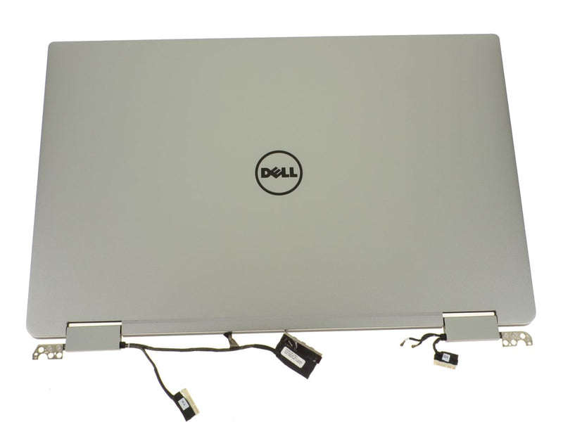 "For Dell OEM XPS 13 (9365) 13.3"" Touchscreen FHD LCD Display Complete Assembly - Silver - NPF60"