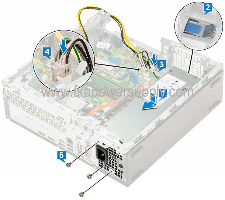 Dell RHXF7 0RHXF7 260W MT Power Supply for Optiplex 3060