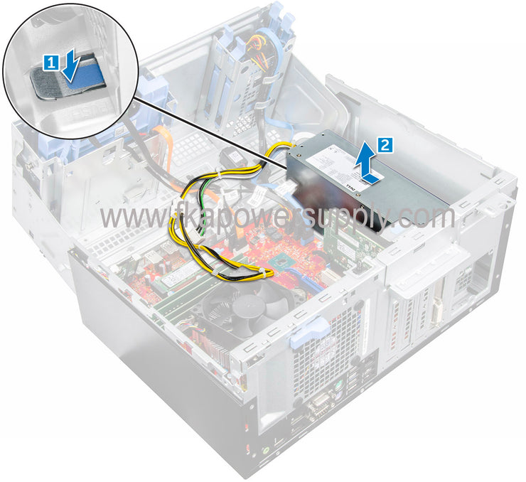 Dell WWM46 0WWM46 180W Power Supply for Optiplex 7050
