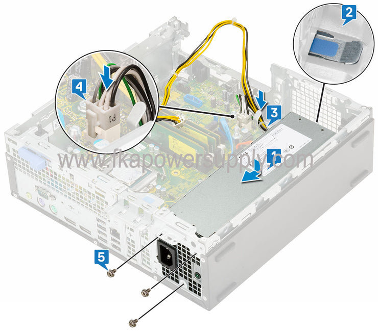 Dell 8X63N 08X63N 260W MT Power Supply for Optiplex 7060