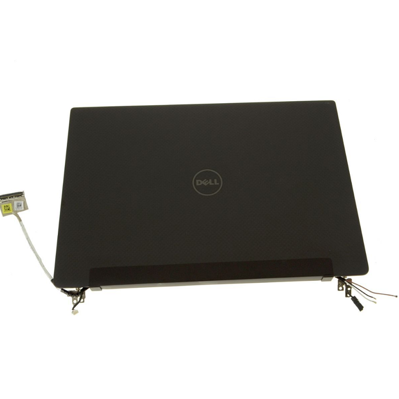 "New Dell OEM Latitude 13 (7370) 13.3"" Touchscreen QHD+ LCD Screen Display Complete Assembly - Carbon Fiber - P4GGV"