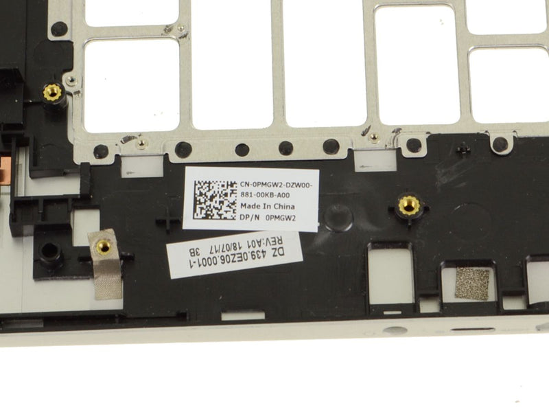 For Dell OEM Inspiron 15 (7586) 2-in-1 Palmrest Assembly - PMGW2