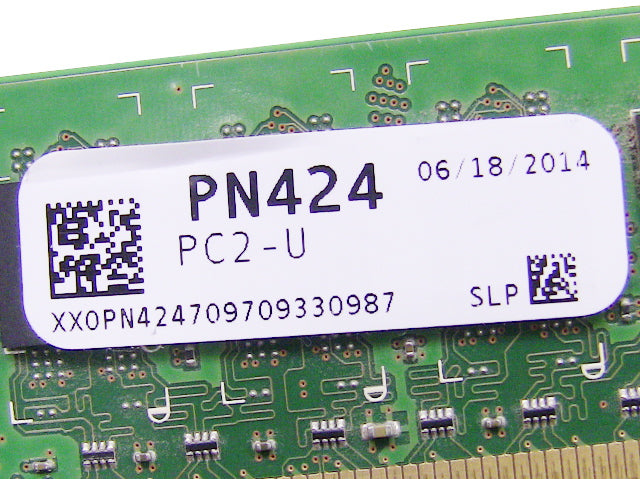 For Dell OEM DDR2 667Mhz 1GB PC2-5300U Non-ECC RAM Memory Stick - PN424 w/ 1 Year Warranty
