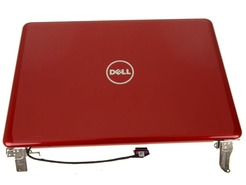 "New Red - Dell OEM Inspiron 15 (5565 / 5567) 15.6"" TouchScreen FHD LCD Display Complete Assembly - VVWTX"