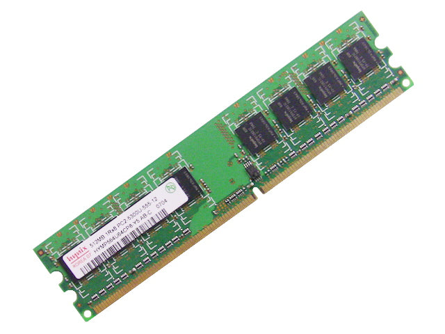 For Dell OEM DDR2 667Mhz 512MB PC2-5300U Non-ECC RAM Memory Stick - HYMP564U64CP8 - WM551 w/ 1 Year Warranty