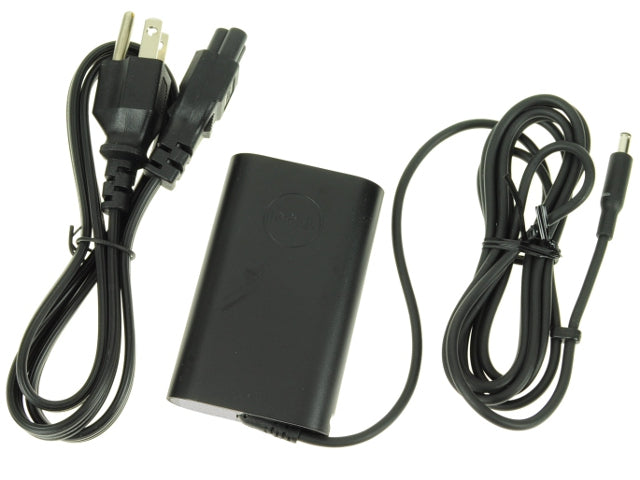 New Dell OEM XPS 12 (9Q33) / Inspiron 14 (7437) / XPS 13 (L322X) AC Power Adapter 45W - 4.5mm Tip - 45 watt - X9RG3