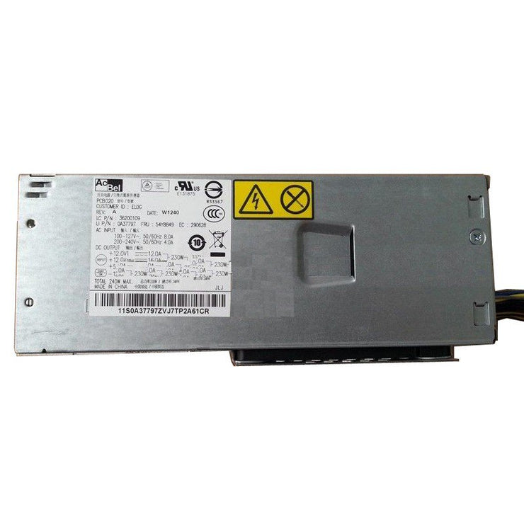 Lenovo ThinkCentre M92p M82 Edge73 SFF 240W 54Y8849 Power Supply Unit PS-4241-01