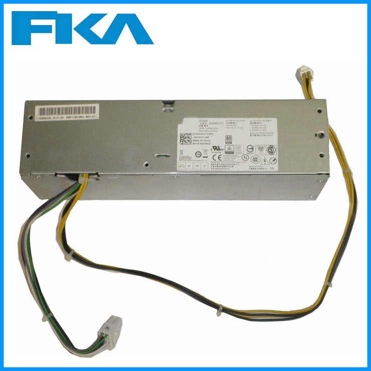 Dell Optiplex 3020 7020 9020 SFF PSU 255W Power Supply HCWV2  0HCWV2 CN-0HCWV2 H255ES-01