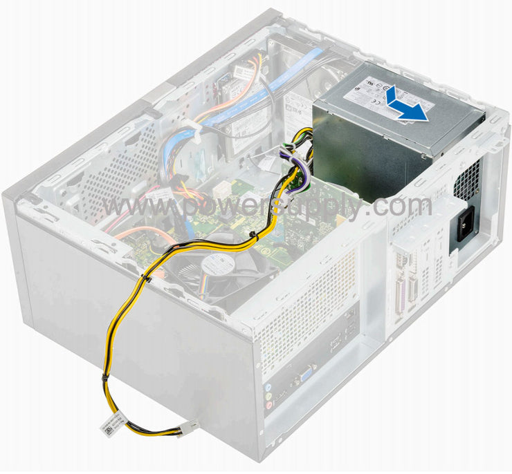 Dell JTR63 0JTR63 300W Power Supply for Vostro 3900G Mini Tower 3902 3905