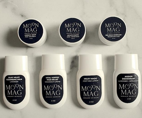 Sample Bags - MoonMag Organic SkinCare