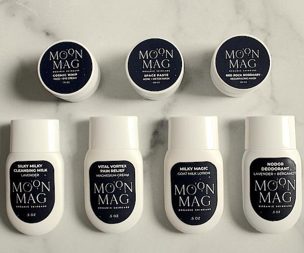 Sample Bags-Skin Care-MoonMag Organic SkinCare