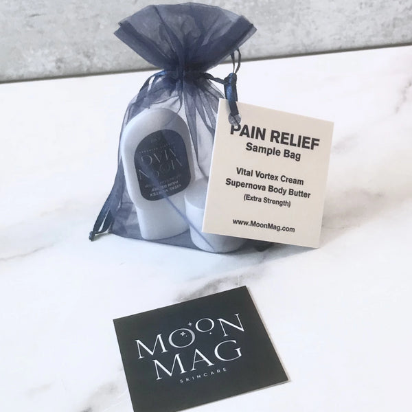 Sample Bag-Skin Care-MoonMag Organic SkinCare