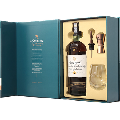 Singleton 12 Years Old (Gift Pack F18)  Single Malt Whisky (70cl) - liquormalaysia