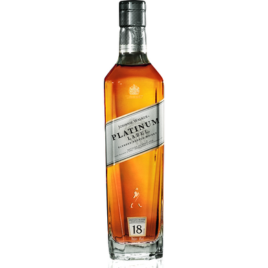 Johnnie Walker Platinum Label 18 Years Blended Scotch Whisky (100cl) - liquormalaysia