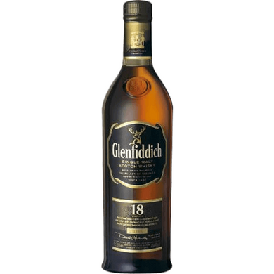Glenfiddich 18 Years Old Single Malt Whisky (70cl) - liquormalaysia