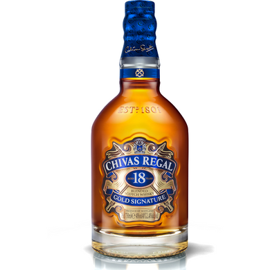 Chivas Regal 18 Years Blended Scotch Whisky (70cl) - liquormalaysia