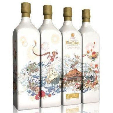 Johnnie Walker Blue Label Willow CNY Edition 55.8% Blended Scotch Whisky (75cl) - liquormalaysia