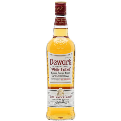 Dewars White Label Blended Scotch Whisky (100cl) - liquormalaysia