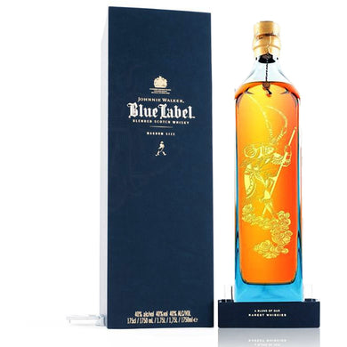 Johnnie Walker Blue Label Monkey God 40% Blended Scotch Whisky (175cl) - liquormalaysia
