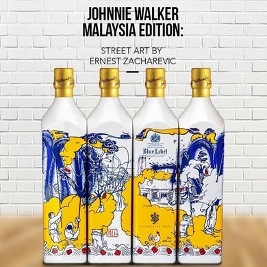 Johnnie Walker Blue Label Malaysia Edition Street Art Blended Scotch Whisky (75cl) - liquormalaysia