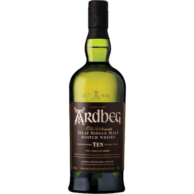 Ardbeg 10 Years Old Islay Single Malt Whisky (100cl) - liquormalaysia