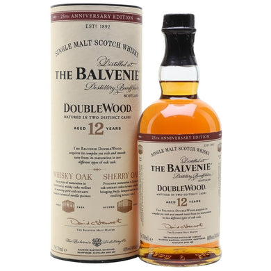The Balvenie Doublewood Aged 12 Years Single Malt Whisky (70cl) - liquormalaysia