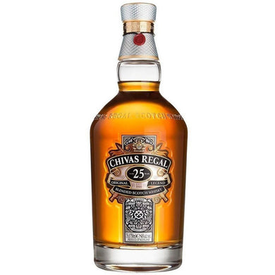 Chivas Regal 25 Year Old (70cl) - liquormalaysia