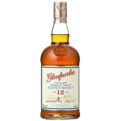 Glenfarclas 12 Years Old Single Malt Scotch Whisky (100cl) - liquormalaysia