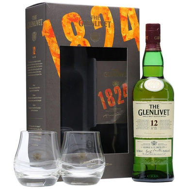 The Glenlivet 12 Years (Gift Set 2016) Single Malt (75cl) - liquormalaysia