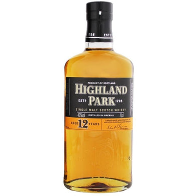 Highland Park 12 Years Old Single Malt Whisky (70cl) - liquormalaysia