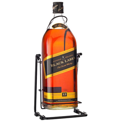 Johnnie Walker Black Label Magnum Blended Scotch Whisky (450cl) - liquormalaysia