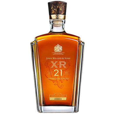 Johnnie Walker XR21 Blended Scotch Whisky (75cl) - liquormalaysia