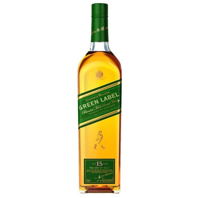 Johnnie Walker Green Label Blended Scotch Whisky (70cl) - liquormalaysia